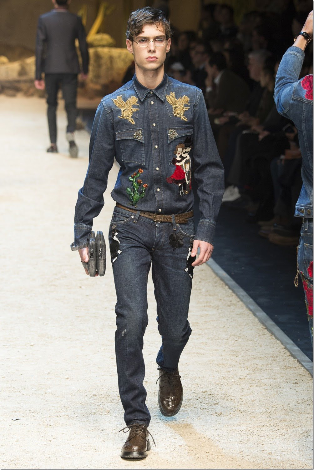 stil western dolce and gabanna