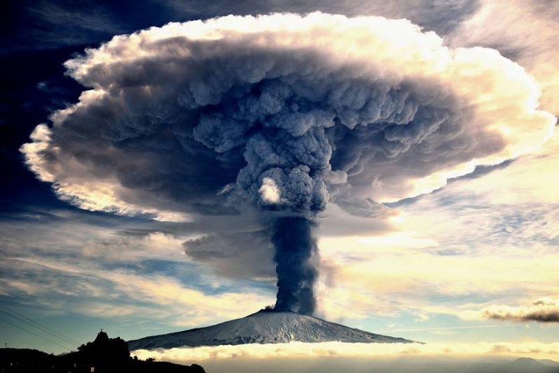 etna in eruptie