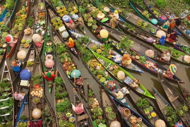 piata plutitoare indonezia