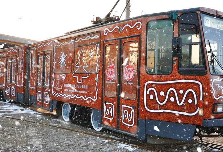 tramvaiul lui moș crăciun