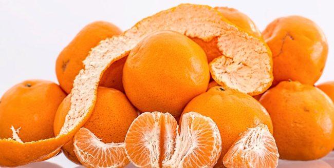 coji de mandarine