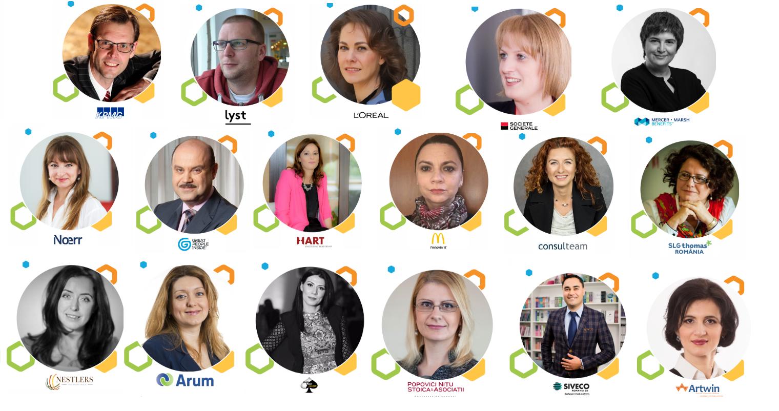Speakeri HR Summit Cluj