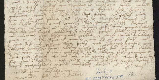 Documente medievale, incluse în prima arhivă digitală din România