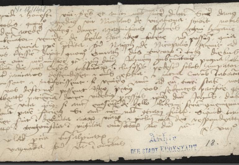 scrisoare vlad tepes