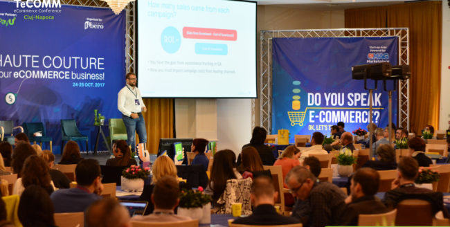 +400 de profesioniști în eCommerce reuniți la Evenimentul Premium de Comerț Electronic TeCOMM