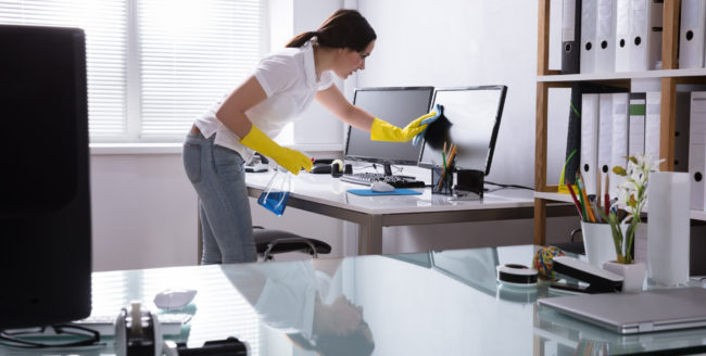 Curățarea profundă a birourilor: cum să faci o companie să funcționeze mai bine
