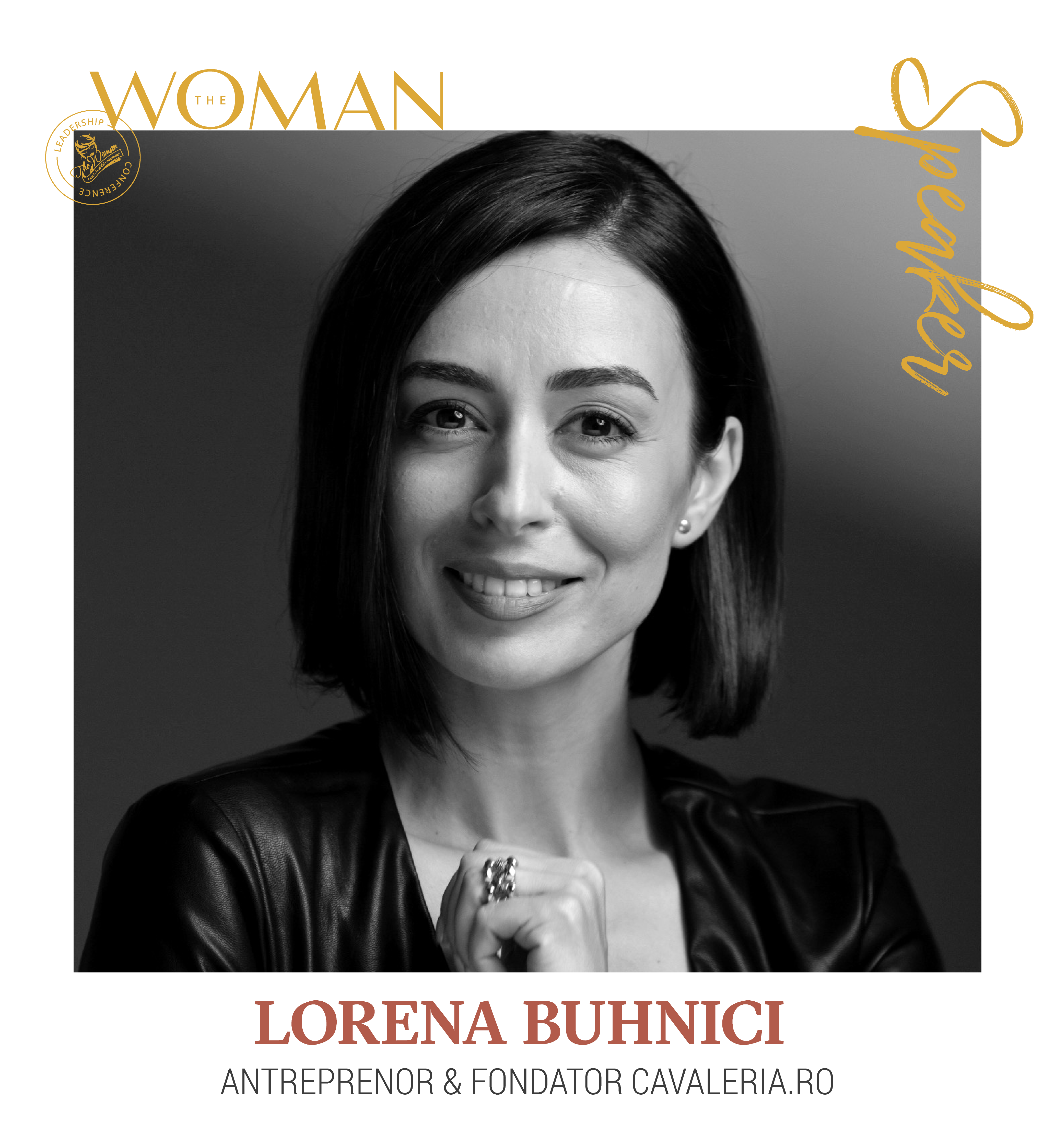 Lorena Buhnici - Speaker The Woman Leadership Conference