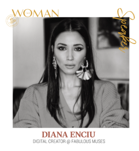 Diana Enciu - Speaker The Woman 2020