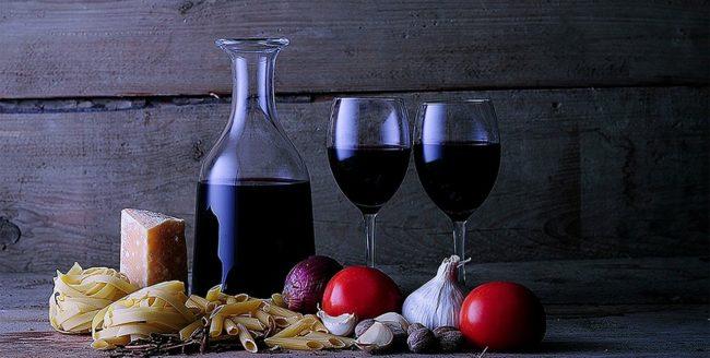 Paste și vin. O combinație irezistibilă
